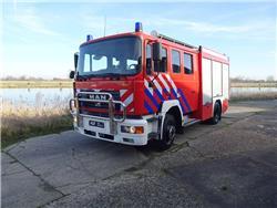 MAN 14-245 Ziegler incl. equipment, Fire trucks, Transportation