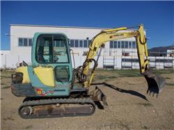 Yanmar B37V, Mini excavators < 7t (Mini diggers), Construction
