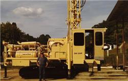 Ingersoll Rand DM30 DL201, Surface drill rigs, Construction Equipment