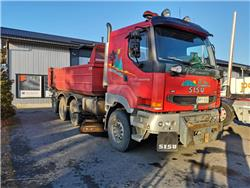 Sisu E11 8x2, Tipper trucks, Transportation