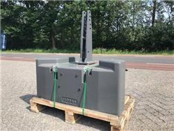 Fendt 1400 kg, Frontgewichten, Landbouw