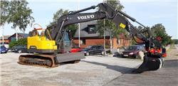 Volvo ECR 235 E, Uthyres, Bandgrävare, Entreprenad