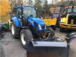 New Holland T 5.115 EC frontlyft -13, Traktorer, Lantbruk