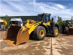 Komatsu WA470-8, Wheel loaders, Construction