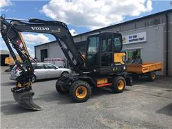 Volvo EW60E (UTHYRES), Hjulgrävare, Entreprenad