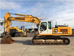 Liebherr R 934 C, Crawler excavators, Construction