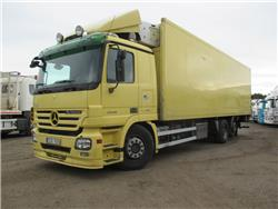 Mercedes-Benz ACTROS 2546 L 6X2, Reefer Trucks, Trucks and Trailers