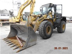 Komatsu WA320-5, Wheel Loaders, Construction Equipment