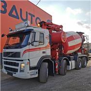 Volvo FM 480 CIFA MK24/2Z PLACING BOOM AND PUMP UNIT PB, Concrete Trucks, Trucks and Trailers