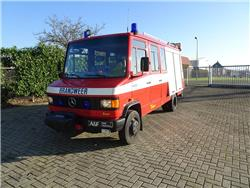 Mercedes Benz 814D Firetruck, Fire trucks, Transportation