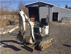 Bobcat 418, Crawler Excavators, Construction