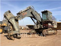 Bucyrus-Erie RH40E, Crawler Excavators, Construction