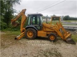 CASE 580L, backhoe loader, Construction
