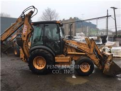 CASE 590SM, backhoe loader, Construction
