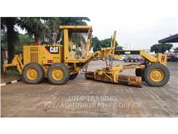 Caterpillar 140K, карьерный автогрейдер, Строительное