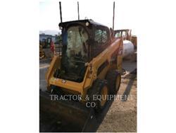 Caterpillar 226D H2CB, Carregadoras de direcção deslizante, Equipamentos Construção