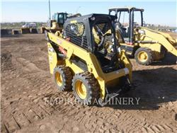 Caterpillar 232D, Carregadoras de direcção deslizante, Equipamentos Construção