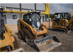 Caterpillar 246D, Carregadoras de direcção deslizante, Equipamentos Construção