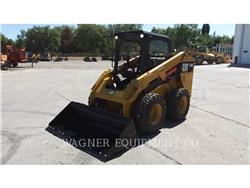 Caterpillar 246D HF, Mini incarcator, Constructii