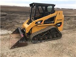 Caterpillar 247B3, Mini incarcator, Constructii