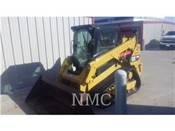 Caterpillar 259D, Carregadoras de direcção deslizante, Equipamentos Construção