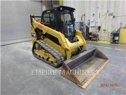 Caterpillar 259D CA, Carregadoras de direcção deslizante, Equipamentos Construção