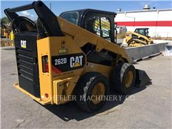 Caterpillar 262D C3HF2, Mini incarcator, Constructii