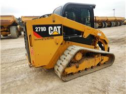 Caterpillar 279 D, Mini incarcator, Constructii