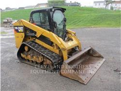 Caterpillar 279D、滑移装载机、建筑设备