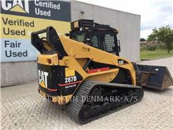 Caterpillar 287 B XPS, Mini incarcator, Constructii