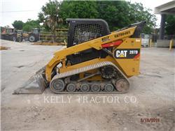 Caterpillar 287D, Minicargadoras, Construcción