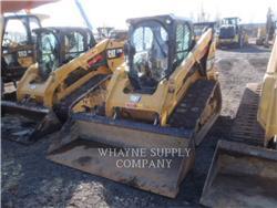 Caterpillar 289D, Carregadoras de direcção deslizante, Equipamentos Construção