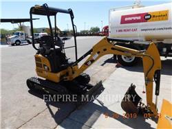 Caterpillar 301.7DCROR, Escavadoras de rastos, Equipamentos Construção