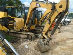 Caterpillar 305.5ECR, Crawler Excavators, Construction