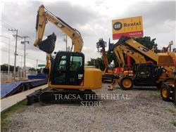 Caterpillar 307E, Excavatoare pe senile, Constructii