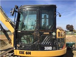 Caterpillar 308D CR, Excavatoare pe senile, Constructii