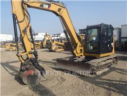 Caterpillar 308E2, Excavatoare pe senile, Constructii