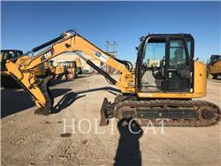 Caterpillar 308ECR SBX、クローラー式油圧ショベル(パワーショベル・ユンボ)、建設