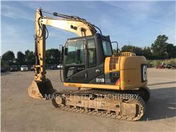 Caterpillar 311DLRR, Excavadoras de cadenas, Construcción