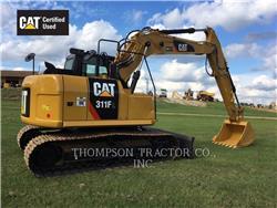 Caterpillar 311FLRR, Excavatoare pe senile, Constructii