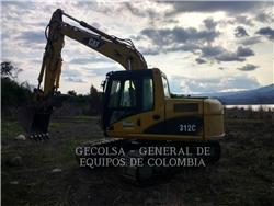 Caterpillar 312CL, Excavatoare pe senile, Constructii