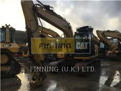Caterpillar 313FL GC, Crawler Excavators, Construction