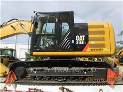 Caterpillar 316 E L, Crawler Excavators, Construction