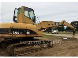 Caterpillar 320CFMHW、组装挖掘机、建筑设备