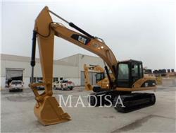 Caterpillar 320D、クローラー式油圧ショベル(パワーショベル・ユンボ)、建設