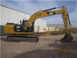 Caterpillar 320D2, Excavatoare pe senile, Constructii