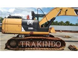 Caterpillar 320D2, Pelle sur chenilles, Équipement De Construction