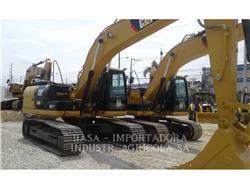 Caterpillar 320D2L, Escavadoras de rastos, Equipamentos Construção