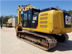 Caterpillar 320EL MT, Excavatoare pe senile, Constructii