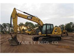 Caterpillar 323, Escavadoras de rastos, Equipamentos Construção
